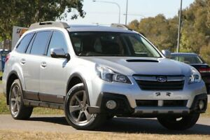 2013 Subaru Outback B5A MY13 2.0D Lineartronic AWD Premium Silver 7 Speed Constant Variable Wagon Caloundra West Caloundra Area Preview