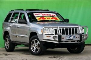 2006 Jeep Grand Cherokee WH MY2006 65th Anniversary Silver 5 Speed Automatic Wagon Ringwood East Maroondah Area Preview