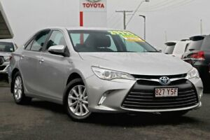 2015 Toyota Camry AVV50R Altise Silver 1 Speed Constant Variable Sedan Hybrid Noosaville Noosa Area Preview
