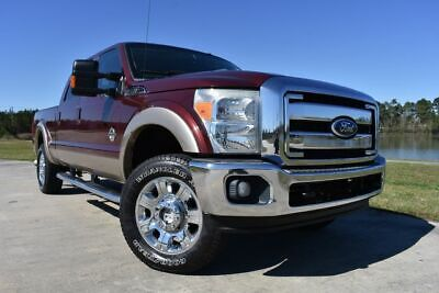 2011 Ford F-250 Lariat 2011 Ford F250SD Lariat 208868 Miles Burgundy Pickup Truck 8 Automatic