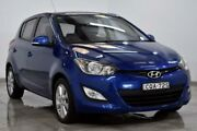 2013 Hyundai i20 PB Elite Blue Automatic Hatchback Campbelltown Campbelltown Area Preview