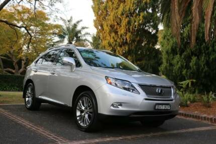 2011 Lexus RX450h Wagon Eastwood Ryde Area Preview