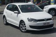 2012 Volkswagen Polo 6R MY13 77TSI Comfortline White 6 Speed Manual Hatchback Southport Gold Coast City Preview