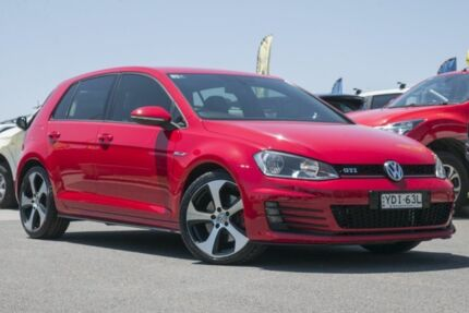 2015 Volkswagen Golf VII MY15 GTI DSG Red 6 Speed Sports Automatic Dual Clutch Hatchback Pearce Woden Valley Preview