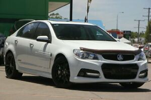 2014 Holden Commodore VF MY15 SS V Redline White 6 Speed Manual Sedan Caloundra West Caloundra Area Preview