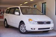 2013 Kia Grand Carnival VQ MY14 S White 6 Speed Sports Automatic Wagon Willagee Melville Area Preview