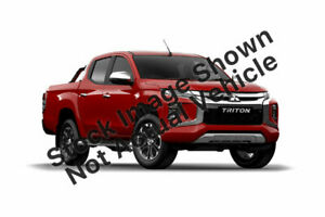 2019 Mitsubishi Triton MR MY19 GLS Double Cab Premium Red 6 Speed Sports Automatic Utility Hoppers Crossing Wyndham Area Preview