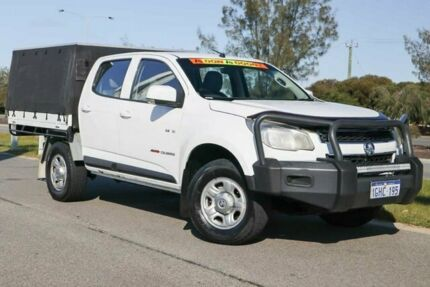 2012 Holden Colorado RG MY13 LX Crew Cab Summit White 6 Speed Sports Automatic Utility Clarkson Wanneroo Area Preview