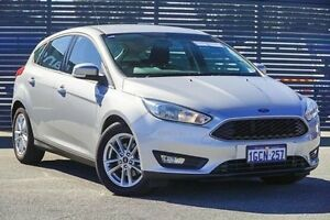 2016 Ford Focus LZ Trend Silver 6 Speed Automatic Hatchback Maddington Gosnells Area Preview