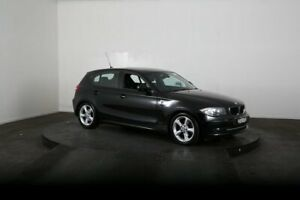 2010 BMW 120i E87 MY11 Black 6 Speed Automatic Hatchback McGraths Hill Hawkesbury Area Preview