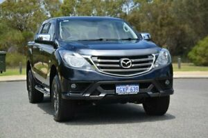 2019 Mazda BT-50 UR0YG1 XTR Blue 6 Speed Sports Automatic Utility Cannington Canning Area Preview