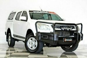 2016 Holden Colorado RG MY16 LS (4x2) White 6 Speed Automatic Crew Cab Pickup Burleigh Heads Gold Coast South Preview
