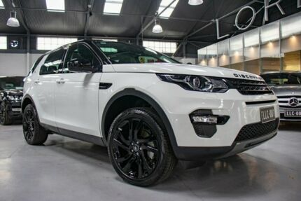 2017 Land Rover Discovery Sport LC MY17 TD4 150 HSE 7 Seat Fuji White 9 Speed Automatic Wagon Port Melbourne Port Phillip Preview