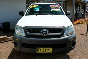 2009 Toyota Hilux TGN16R Workmate Cab Chassis 2dr Man 5sp 2.7i Manual Cab Chassis Mount Druitt Blacktown Area Preview