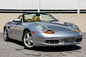 1997 Porsche Boxster Silver 5 Speed Manual Roadster Cannington Canning Area Preview