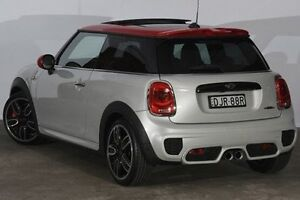 2016 Mini Hatch F56 John Cooper Works White Silver 6 Speed Sports Automatic Hatchback Alexandria Inner Sydney Preview