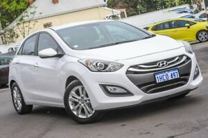 2014 Hyundai i30 GD MY14 Elite White 6 Speed Manual Hatchback Bayswater Bayswater Area Preview
