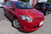 2011 Toyota Corolla ZRE152R MY11 Levin ZR Red 4 Speed Automatic Hatchback Hoppers Crossing Wyndham Area Preview