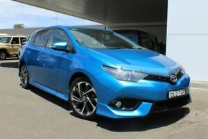 2016 Toyota Corolla ZRE182R MY15 SX Blue Gem 7 Speed CVT Auto Sequential Hatchback Belmore Canterbury Area Preview