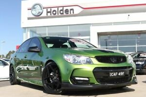2016 Holden Commodore VF II MY16 SV6 Jungle Green 6 Speed Sports Automatic Sedan Liverpool Liverpool Area Preview