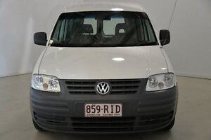2007 Volkswagen Caddy 2KN SWB White 5 Speed Manual Van Mansfield Brisbane South East Preview