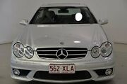 2007 Mercedes-Benz CLK63 C209 MY08 AMG Silver 7 Speed Sports Automatic Coupe Mansfield Brisbane South East Preview