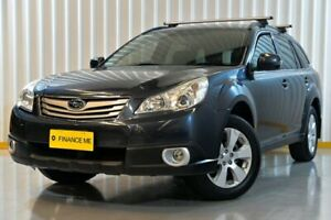 2012 Subaru Outback B5A MY12 2.5i Lineartronic AWD Grey 6 Speed Constant Variable Wagon Hendra Brisbane North East Preview