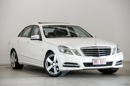2011 Mercedes-Benz E250 CGI W212 Avantgarde White 5 Speed Sports Automatic Sedan Mansfield Brisbane South East Preview