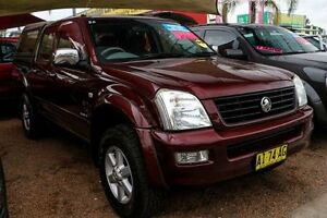 2004 Holden Rodeo RA LT Crew Cab Burgundy 5 Speed Manual Utility Colyton Penrith Area Preview