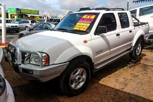 2003 Nissan Navara D22 MY2002 ST-R White 5 Speed Manual Utility Minchinbury Blacktown Area Preview