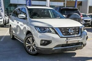 2018 Nissan Pathfinder R52 Series II MY17 ST-L X-tronic 4WD White 1 Speed Constant Variable Wagon Aspley Brisbane North East Preview