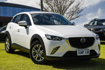 2017 Mazda CX-3 DK4W7A Maxx SKYACTIV-Drive i-ACTIV AWD White 6 Speed Sports Automatic Wagon Wangara Wanneroo Area Preview