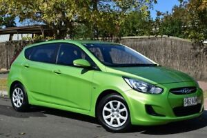 2012 Hyundai Accent RB Active Green 5 Speed Manual Hatchback St Marys Mitcham Area Preview