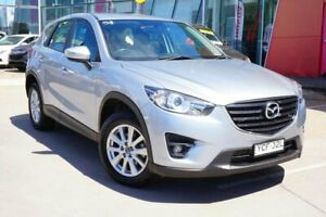 2016 Mazda CX-5 KE1022 Maxx SKYACTIV-Drive AWD Sport Silver 6 Speed Sports Automatic Wagon Phillip Woden Valley Preview