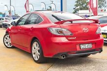 2009 Mazda 6 GH1051 MY09 Luxury Sports Red/Black 5 Speed Sports Automatic Hatchback Greenacre Bankstown Area Preview