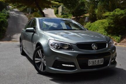 2013 Holden Commodore VF MY14 SS Green 6 Speed Sports Automatic Sedan St Marys Mitcham Area Preview