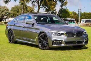 2019 BMW 520i G30 M Sport Steptronic Grey/black/leather P 8 Speed Sports Automatic Sedan Burswood Victoria Park Area Preview