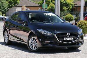 2018 Mazda 3 BN MY18 Maxx Sport Black 6 Speed Automatic Sedan Wyoming Gosford Area Preview