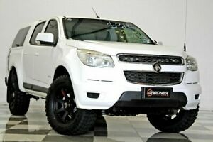 2014 Holden Colorado RG MY14 LX (4x4) White 6 Speed Automatic Crew Cab Pickup Burleigh Heads Gold Coast South Preview