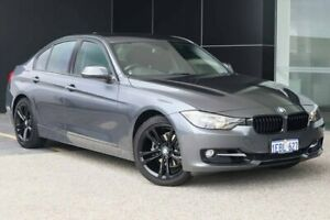 2012 BMW 320i F30 MY0812 Mineral Grey 8 Speed Sports Automatic Sedan Wangara Wanneroo Area Preview