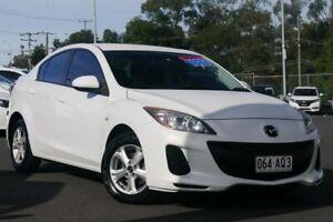 2013 Mazda 3 BL10F2 MY13 Neo Activematic White 5 Speed Sports Automatic Sedan Hillcrest Logan Area Preview