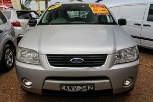 2005 Ford Territory SY TS Silver 4 Speed Sports Automatic Wagon Minchinbury Blacktown Area Preview