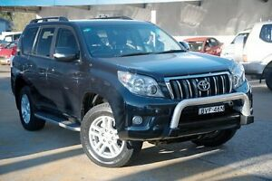 2009 Toyota Landcruiser Prado GRJ150R VX Grey 5 Speed Sports Automatic Wagon Greenacre Bankstown Area Preview