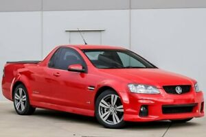 2011 Holden Ute VE II SV6 Thunder Red 6 Speed Sports Automatic Utility Pakenham Cardinia Area Preview