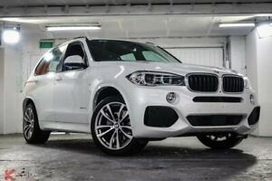 2018 BMW X5 F15 xDrive30d White 8 Speed Sports Automatic Wagon Ryde Ryde Area Preview