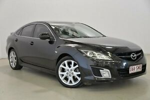 2009 Mazda 6 GH1051 MY09 Luxury Sports Black 5 Speed Sports Automatic Hatchback Mansfield Brisbane South East Preview