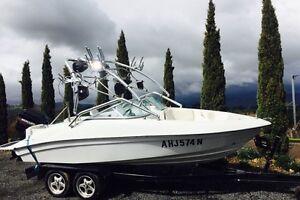 Wake Boat Ski Boat 200hp Mercury Bow Rider Tumut Tumut Area Preview