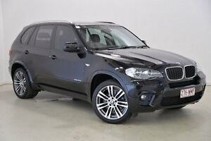 2013 BMW X5 E70 MY1112 xDrive30d Steptronic Black 8 Speed Sports Automatic Wagon Mansfield Brisbane South East Preview