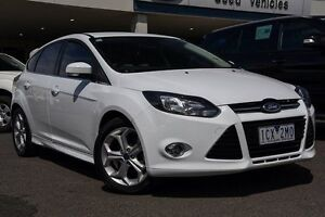 2014 Ford Focus LW MKII Sport PwrShift White 6 Speed Sports Automatic Dual Clutch Hatchback Mornington Mornington Peninsula Preview