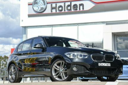 2018 BMW 1 Series F20 LCI-2 Black 8 Speed Sports Automatic Hatchback Liverpool Liverpool Area Preview